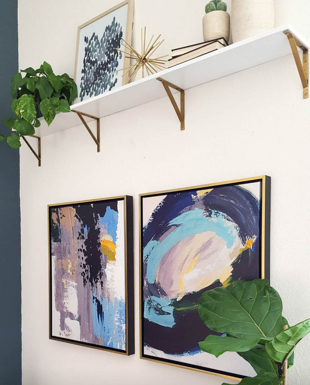 decorar sala sem gastar muito